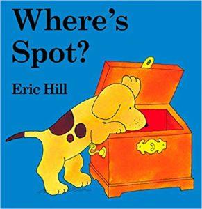 Where's Spot? 絵本